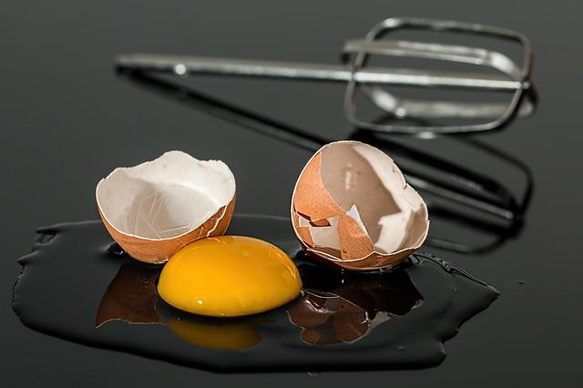 cáscara de huevo